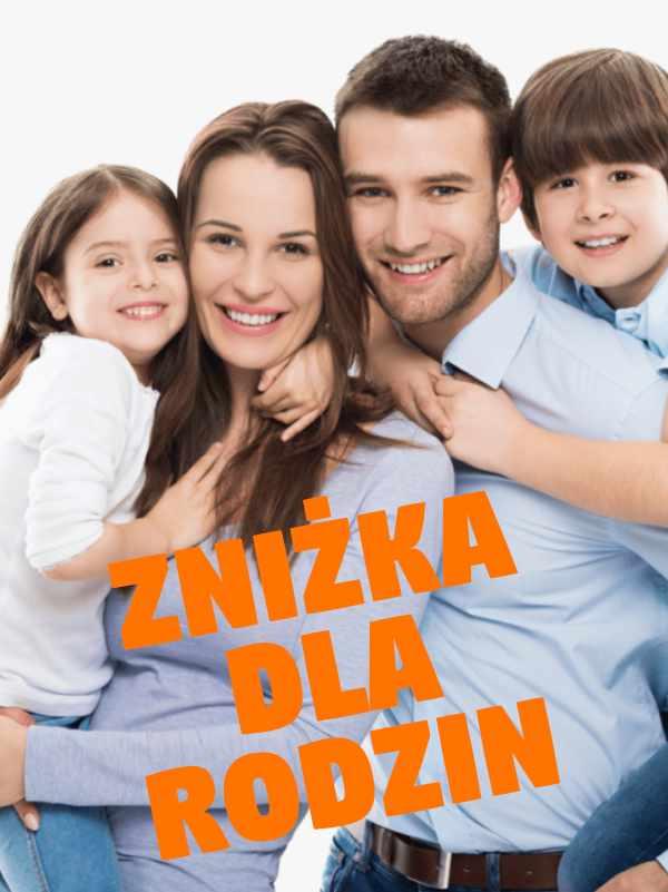 Zniżka dla rodzin